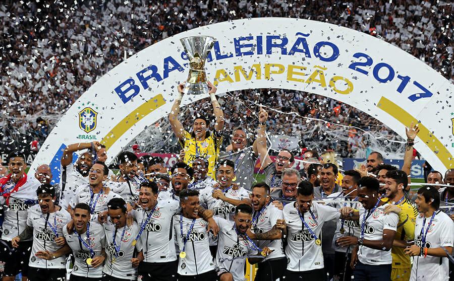 Campeão brasileiro em 2017, o Corinthians