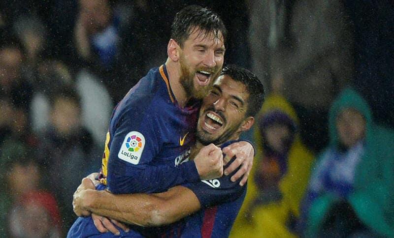 Suarez e Messi