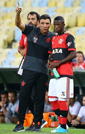 Na temporada passada, o técnico Zé Ricardo