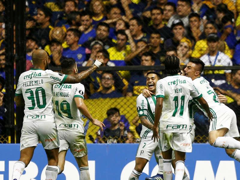 Palmeiras comemora