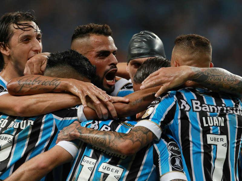 Grêmio comemora