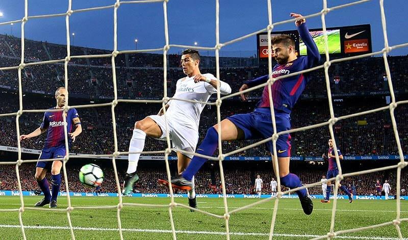Ronaldo x barcelona