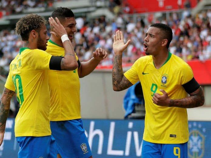 Brasil comemora