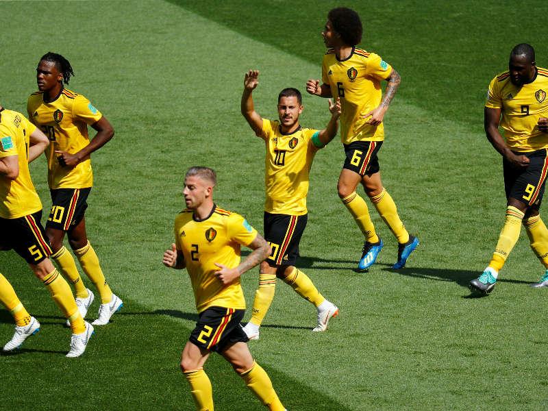 Hazard Lukaku Belgica