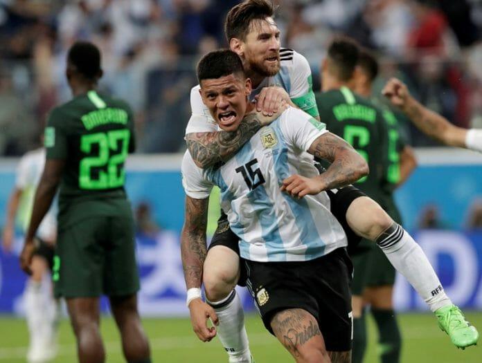 Rojo e Messi