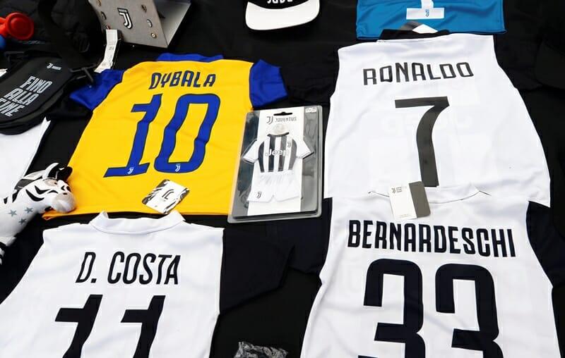 Camisas da Juventus