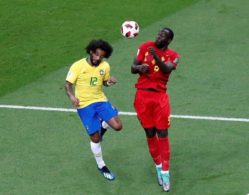 Marcelo e Lukaku (à dir.)
