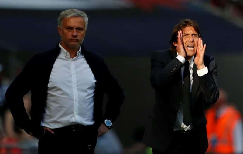 José Mourinho e Antonio Conete