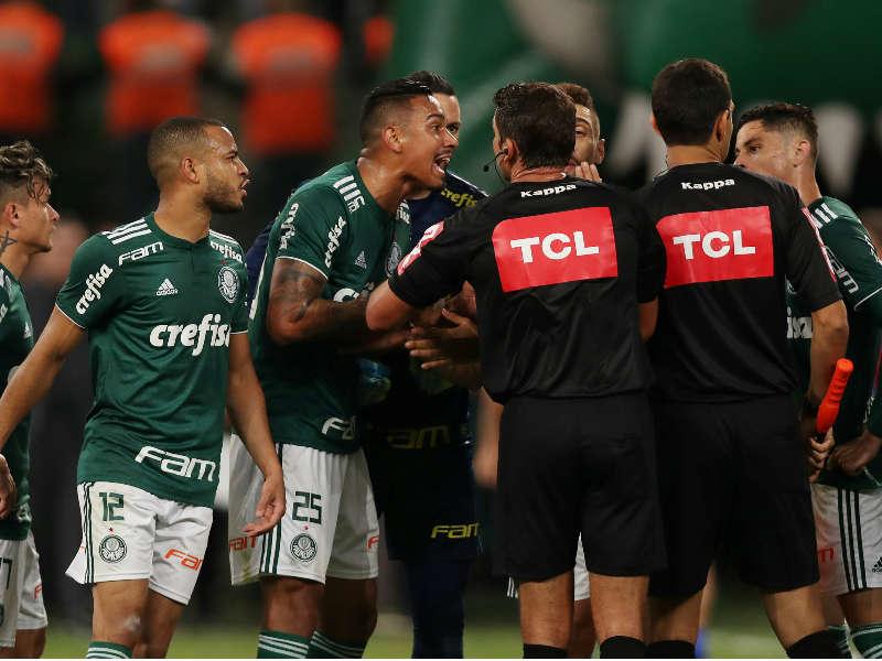 Palmeiras árbitro