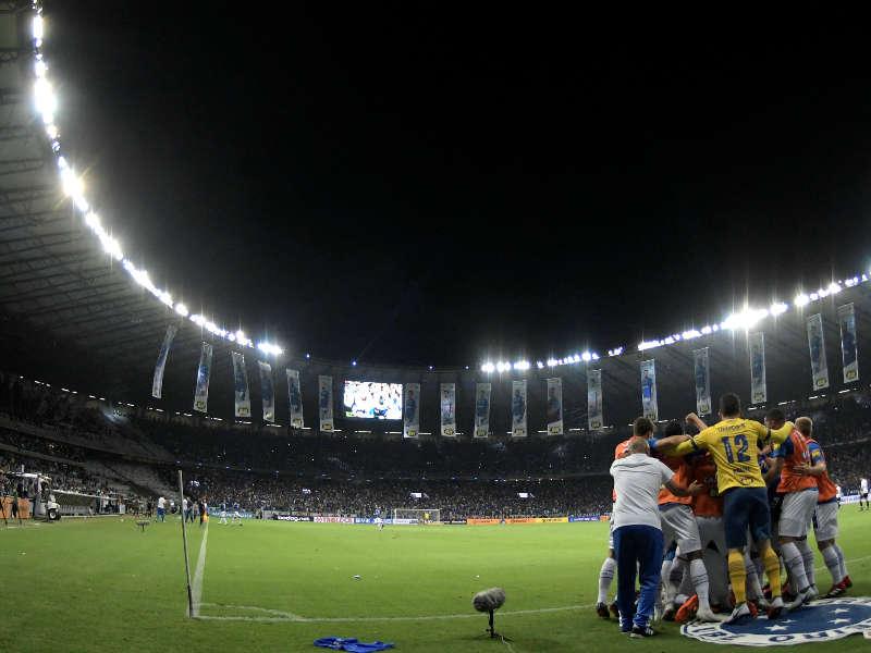 Cruzeiro comemora