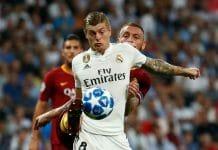kroos De Rossi Real Madrid Roma
