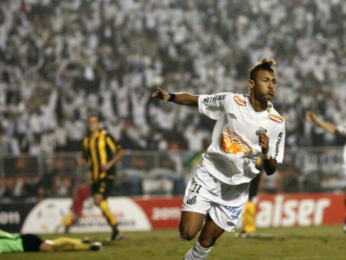 Neymar Santos 2011