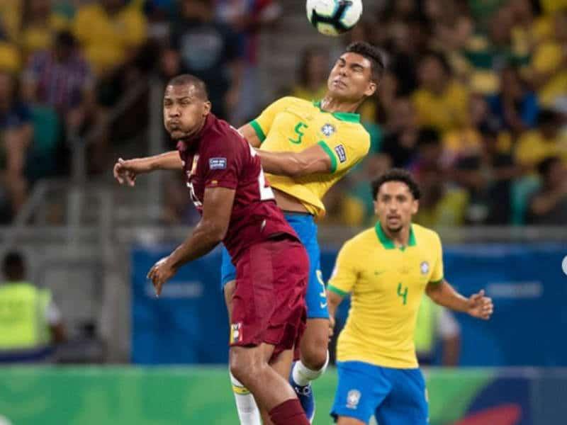 casemiro brasil venezuela