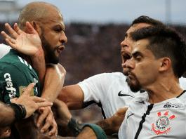 Felipe Melo Fagner Corinthians Palmeiras