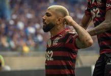 gabriel flamengo campeonato brasileiro perder pontos