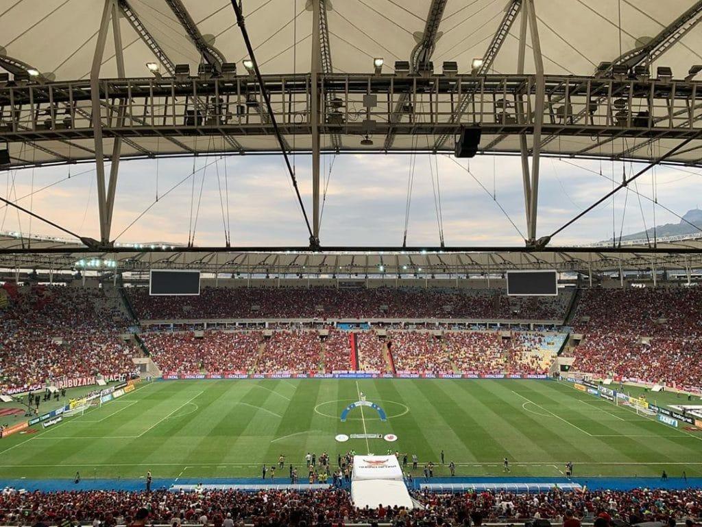 A torcida e seu valor finalmente foi usada pelo Flamengo