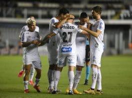 Santos comemora